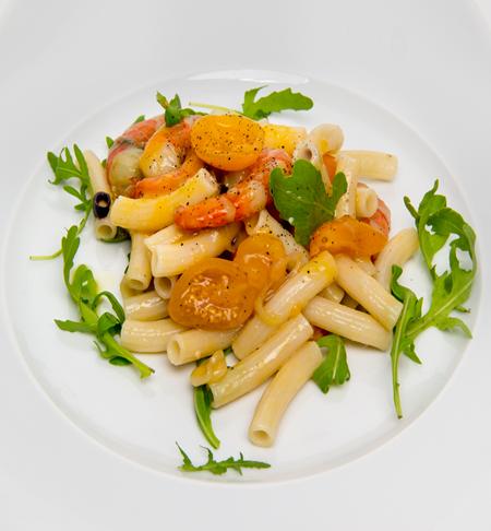 Lotao Zen Reis-Pasta an Heirloom-Tomaten
