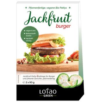 Jackfruit Burger von Lotao